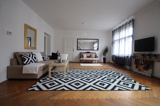 REZERVOVANÉ - Byt - 6 izobvý , 155 m2 , Bratislava - Nové mesto , Šancová ulica