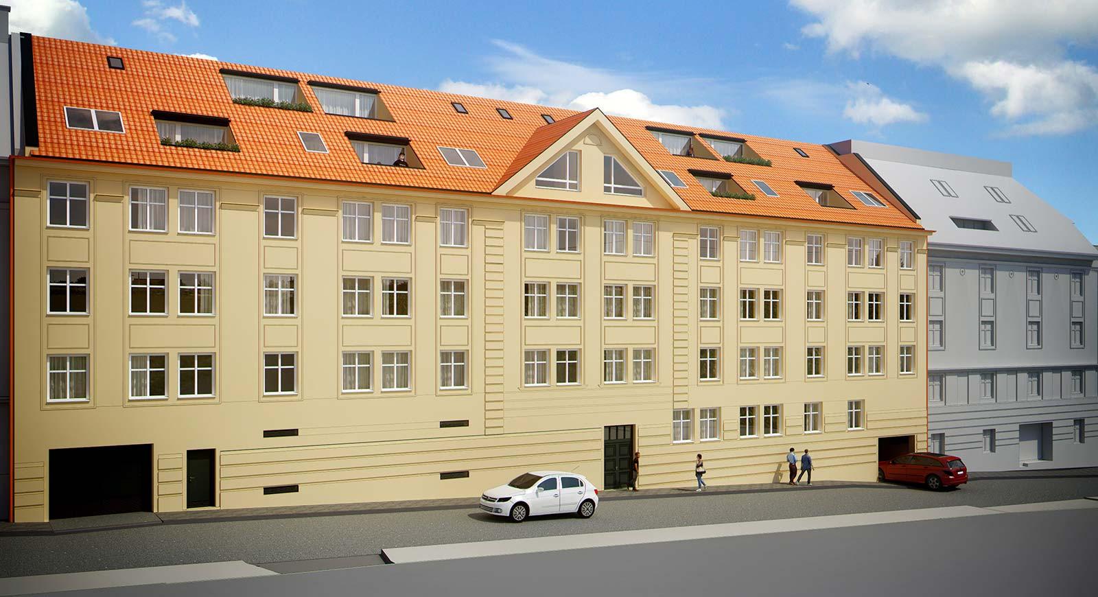 Byt, 1 - izbový, 47.14m2, Bratislava I - StaréMesto, Beskydská ulica