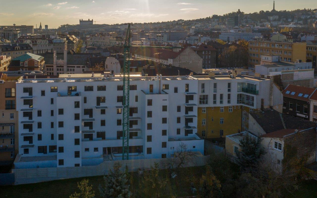 Byt, 2 - izbový, 56.85m2, Bratislava I - Staré Mesto , Beskydská ulica