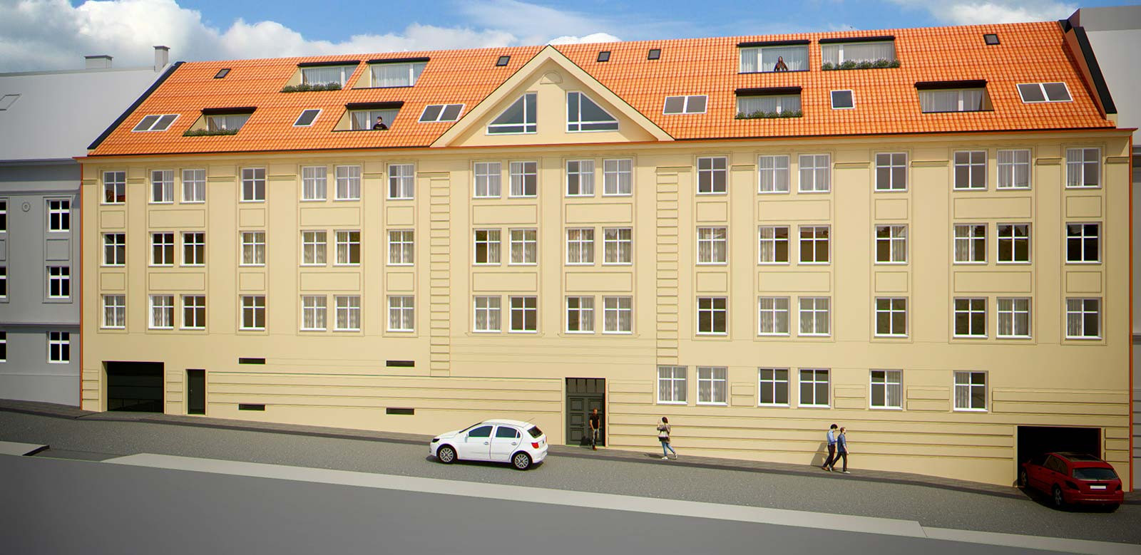 Mezonetový byt, 124,67m2, Bratislava I - Staré Mesto, Beskydská ulica