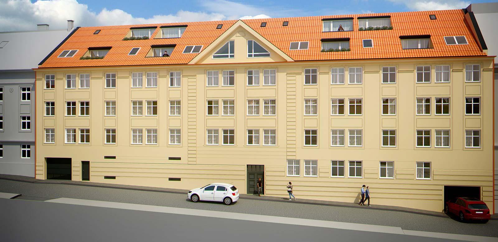 Mezonetový byt, 118,12m2, Bratislava I - Staré Mesto, Beskydská ulica