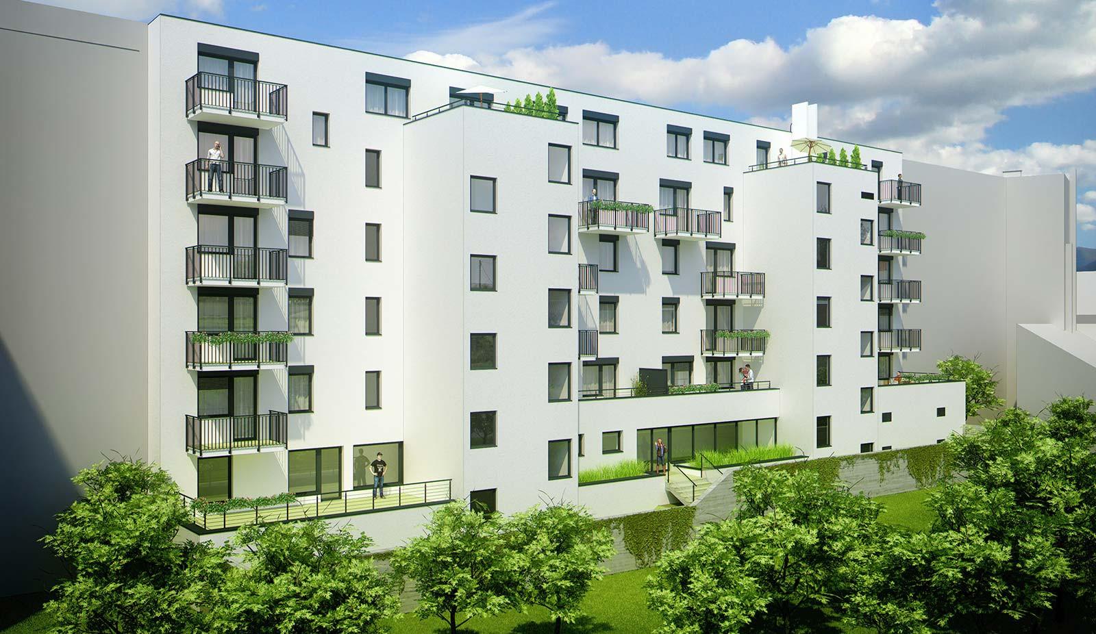 Byt, 2 - izbový, 56.85m2, Bratislava I - Staré Mesto, Beskydská ulica