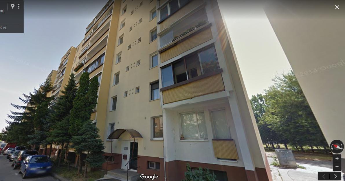 Byt, 1 - izbový, 34m2, Bratislava II - Podunajské Biskupice, Bieloruská ulica